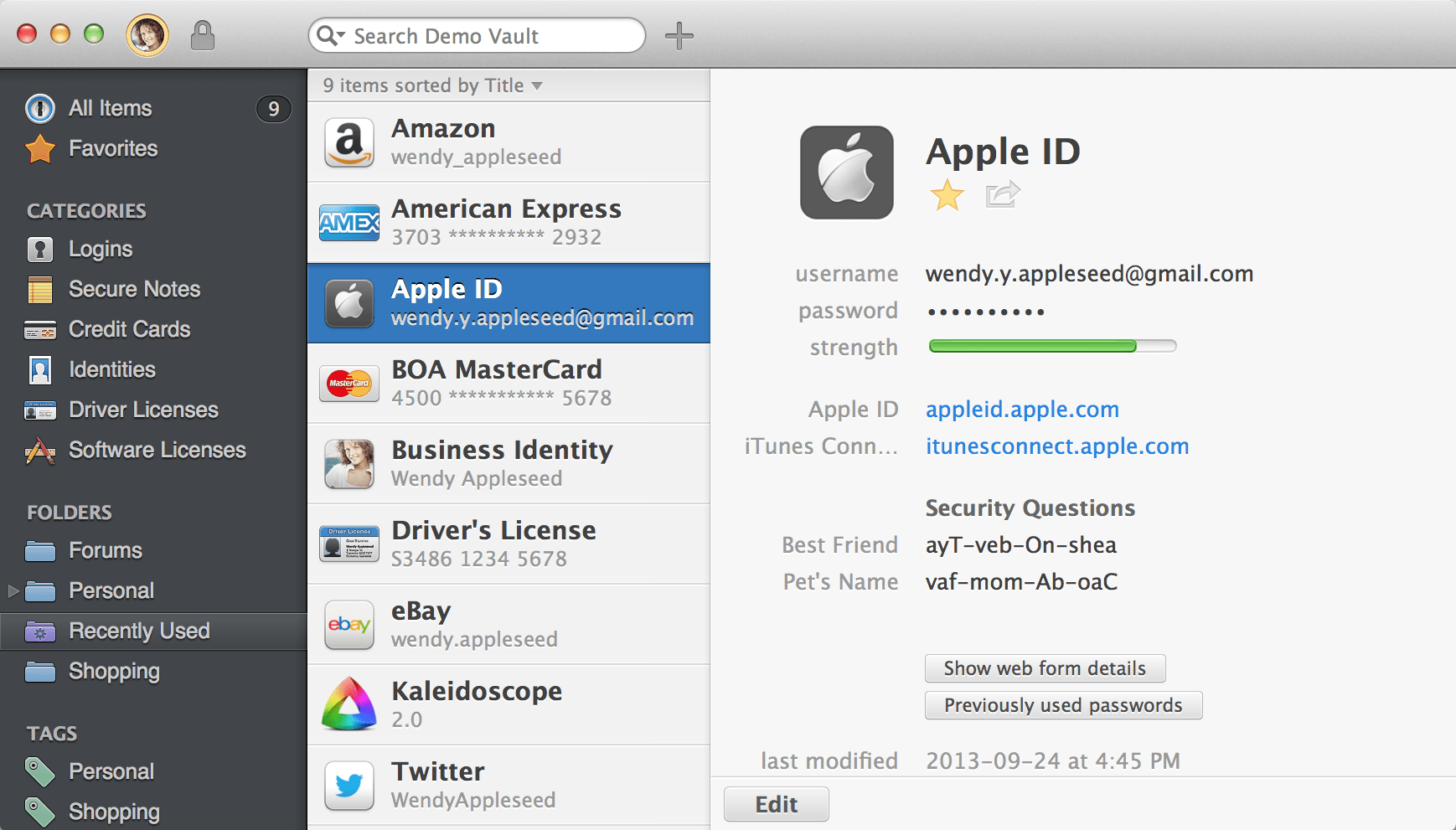 1Password Beta
