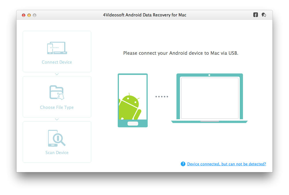 4Videosoft Android Data Recovery for Mac