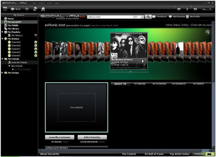 Social.fm Desktop