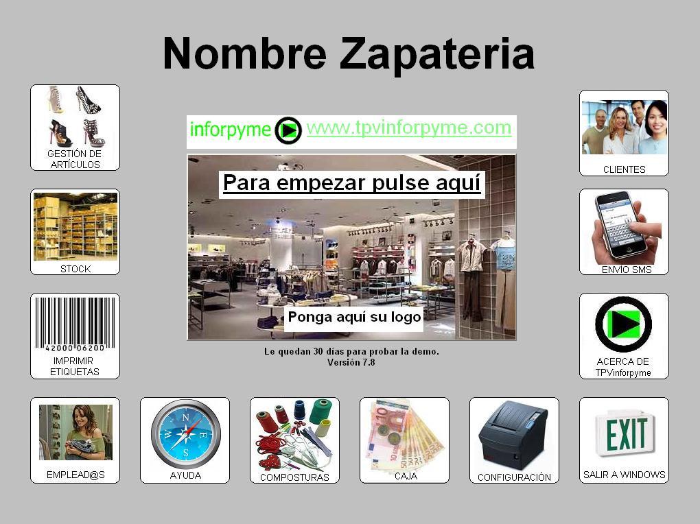 Programa Zapateria TPVinforpyme