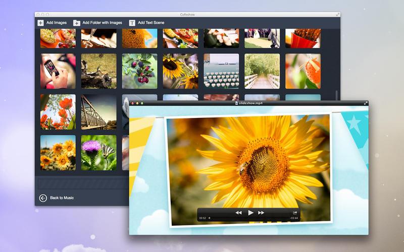 Video slideshow maker - Cofeshow