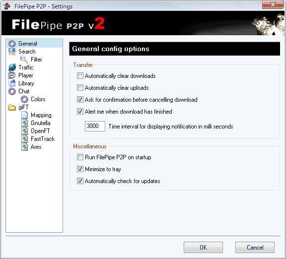 FilePipe P2P