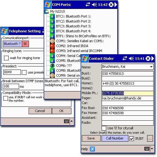 Contact Dialer 2003