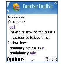 Browse to Concise Oxford English Dictionary and MSDict Viewer