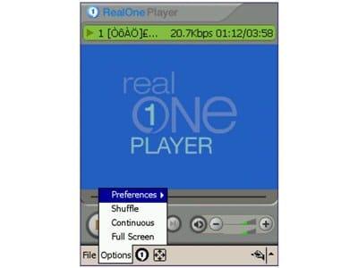 RealPlayer Mobile