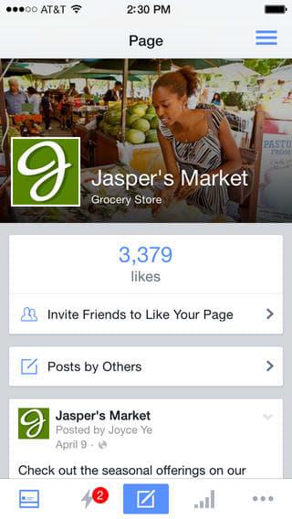 Gerenciador de Páginas do Facebook