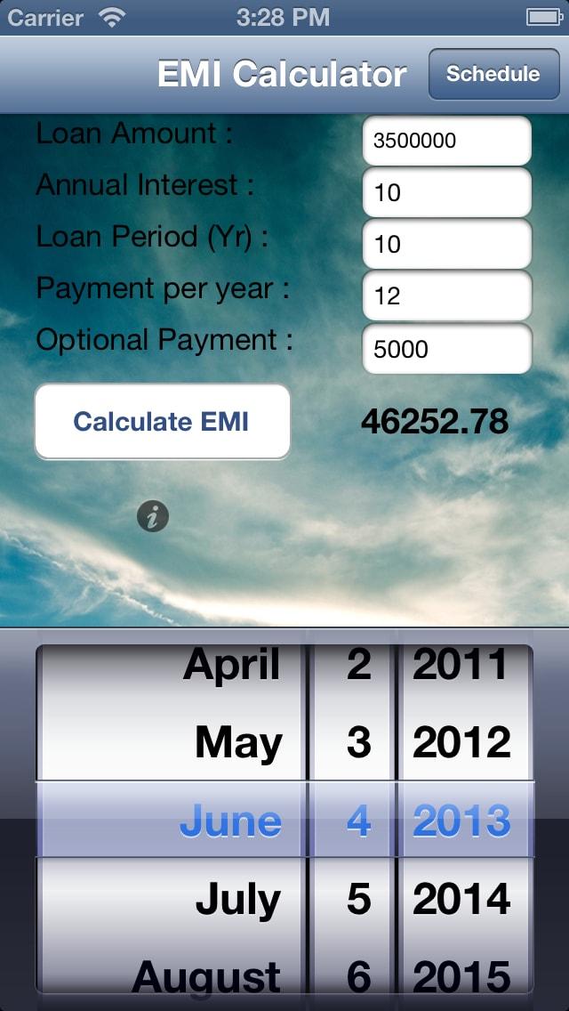 Loan EMI Calculator Free