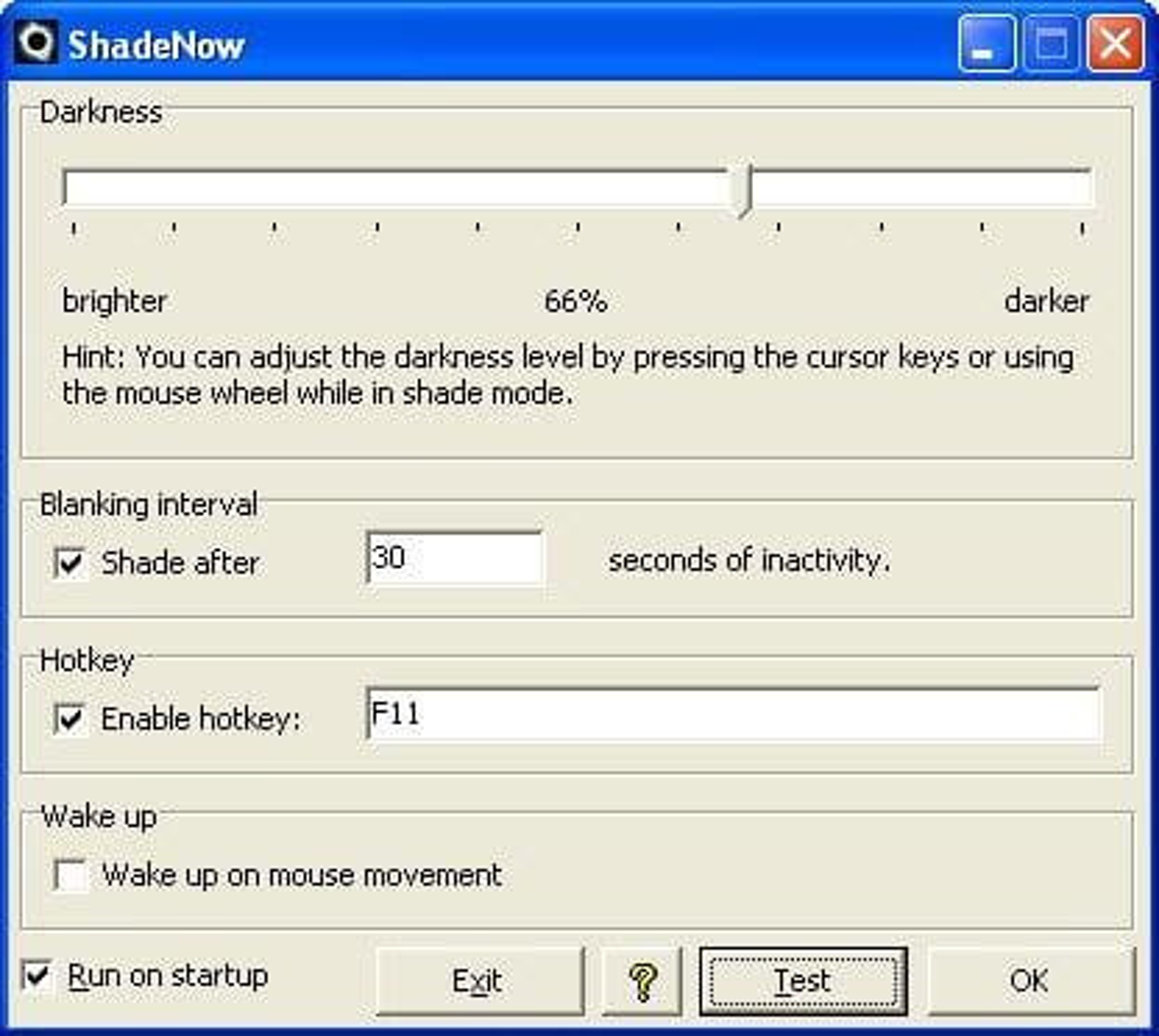 Shadenow