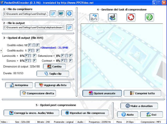 Download PocketDivXEncoder Windows