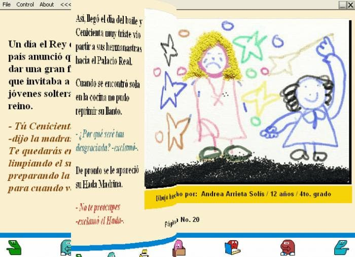 Libro Digital de Cuentos Infantiles