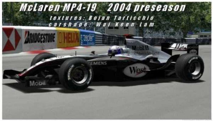 McLarenMP4-19 para GP4