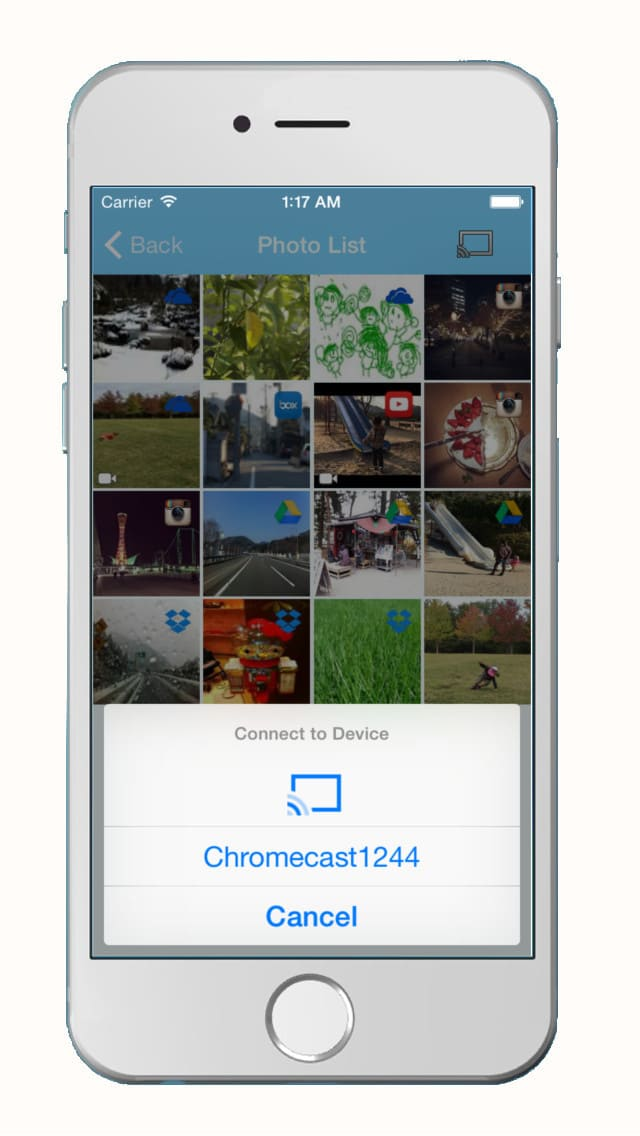 Cloud Photo Viewer - for Chromecast