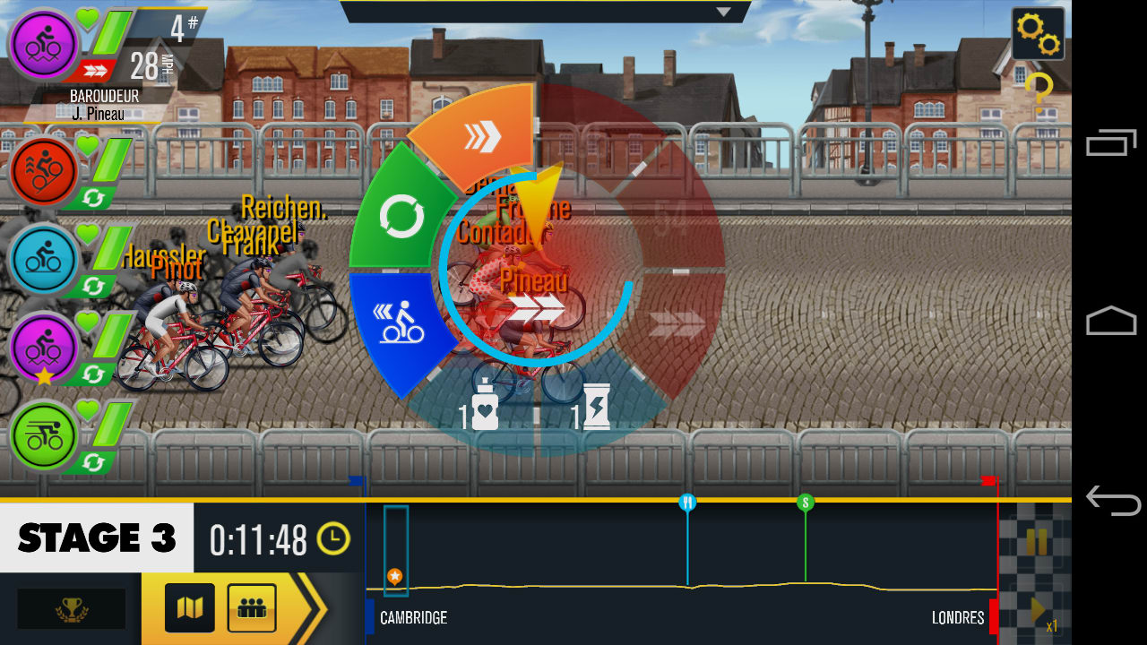 Tour de France 2014 - le jeu mobile de cyclisme officiel