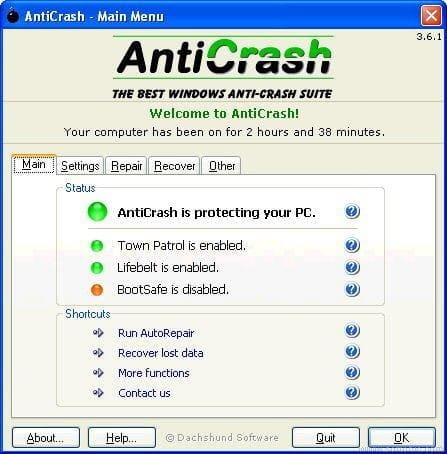 Anticrash