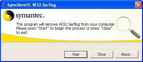Symantec W32.Serflog Removal Tool