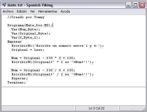 Spanish Viking
