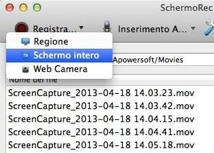 Apowersoft SchermoREC per Mac