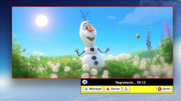 Rejestrator Ekranu dla Mac Apowersoft