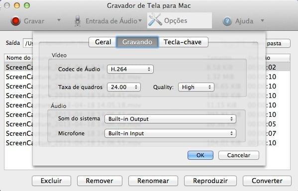 Gravador de Tela da Apowersoft para Mac