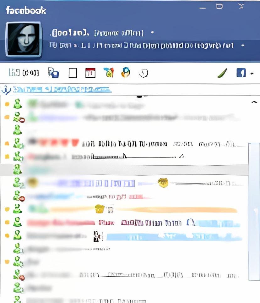 Facebook skin for Messenger 8.5