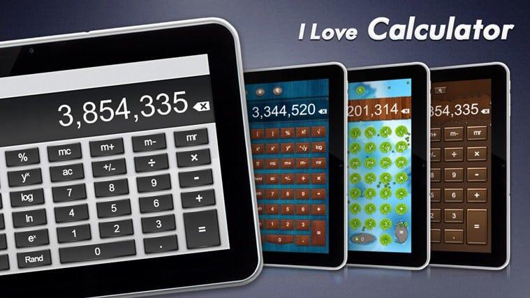 I Love Calculator für Windows 10
