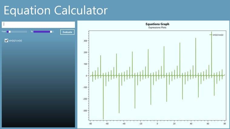 Equation Calculator para Windows 10