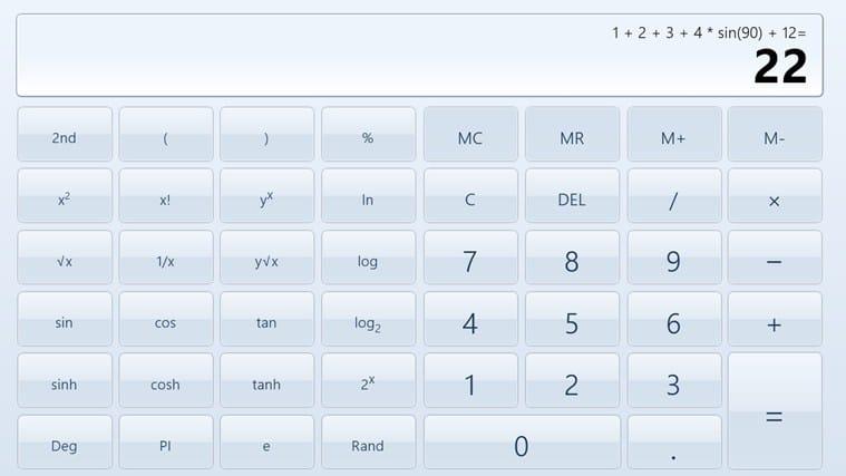 Calculator X8 for Windows 10