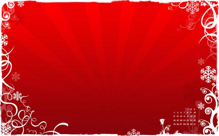 Fondo Red Christmas