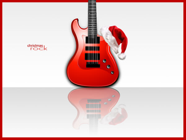 Christmas Rock Wallpaper