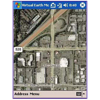 Virtual Earth Mobile