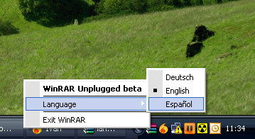 WinRAR Spanish Language