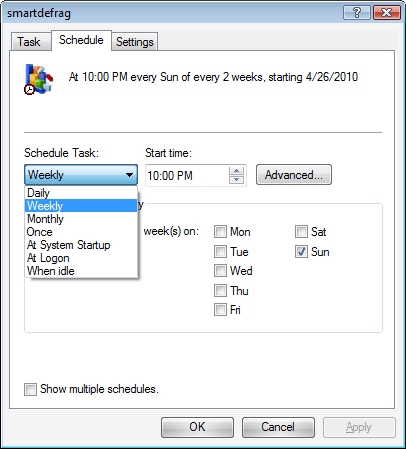 Smart Defrag Server