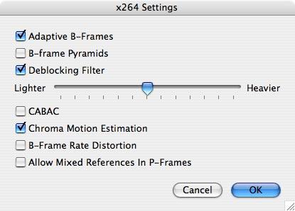 x264 QuickTime Codec