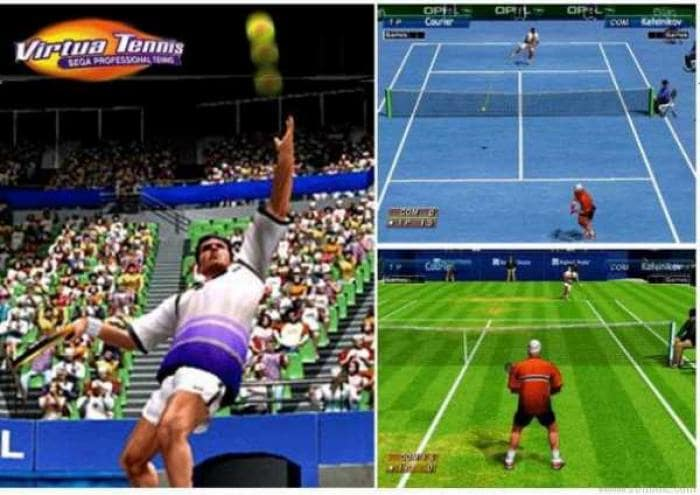 Virtua Tennis Demo
