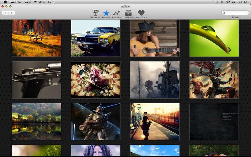 Wallble - HD Wallpapers for Desktop