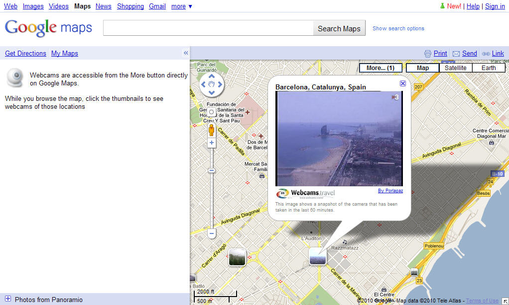 Google maps online find any location in the world obtain directions to go from one place to another and walk around the most important cities as if you were right there gumiabroncs Gallery