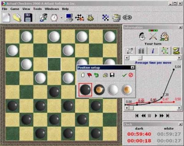 Actual Checkers 2000
