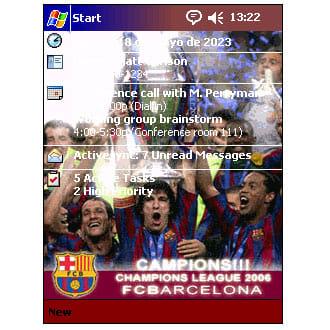 FC Barcelona Champions 2006 Theme