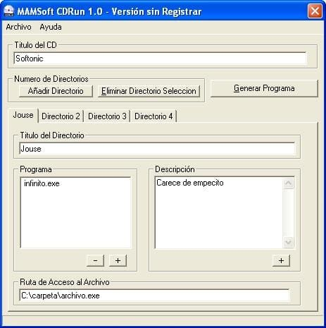 MAMSoft CDRun