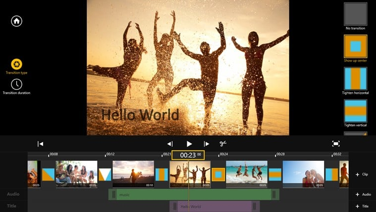 Movie Edit Touch 2 for Windows 10