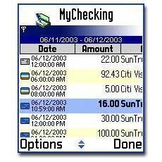MyChecking S60