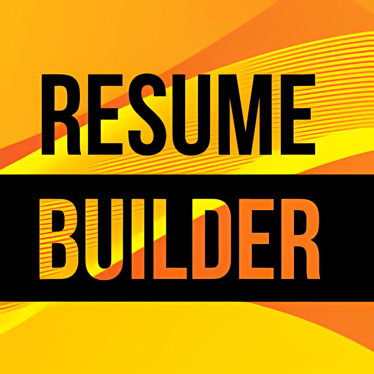 Download Resume CV Builder For Windows