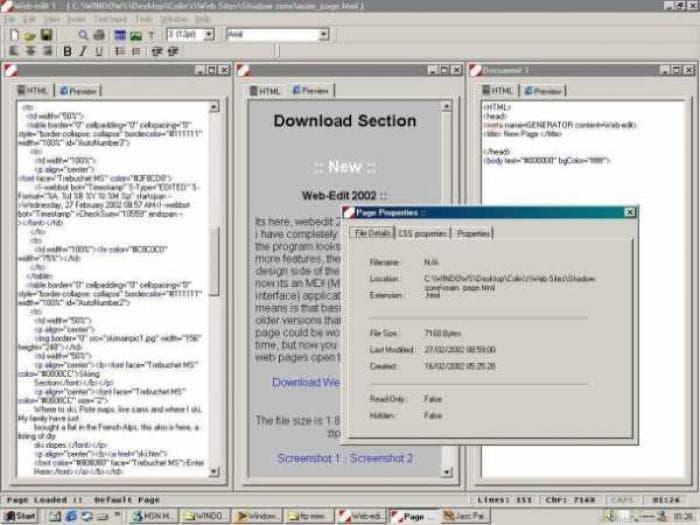 Web-Edit 2002
