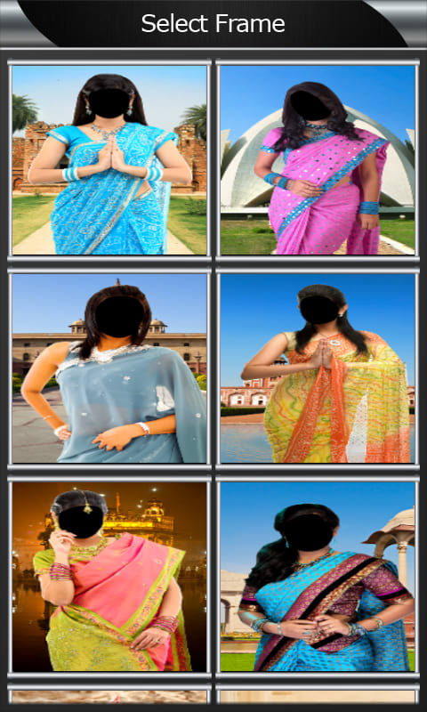 Saree Photo Montage