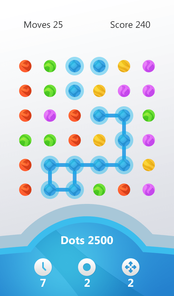 Dots : Connect the Square