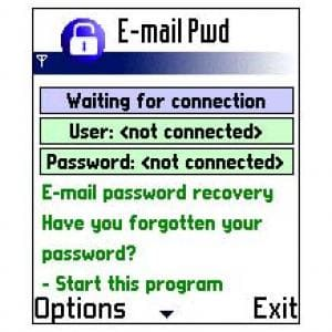 E-Mail Password Recovery