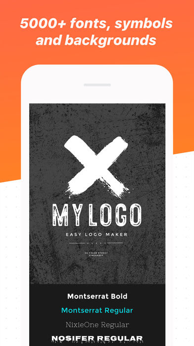 Logo Maker Shop - Text & Graphic Design Creator
