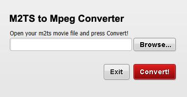 Free M2TS to Mpeg Converter