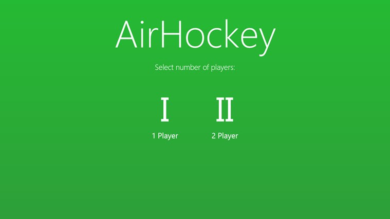 AirHockey for Windows 10