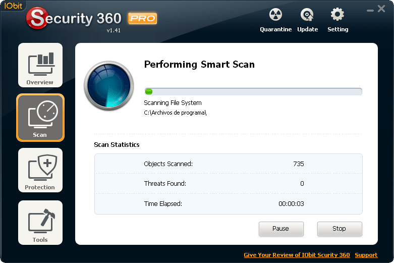 IObit Security 360 110